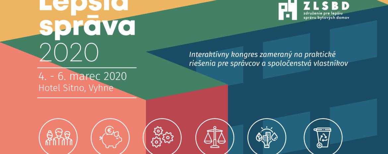 Účasť na IV. kongrese LEPŠIA SPRÁVA 2020