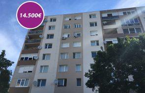 Jednoizbový byt č. 2 na ulici Dunajská v Dunajskej Strede