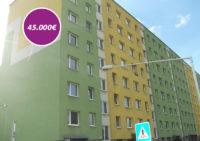 Trojizbový byt č. 26 na ulici Okružná v Čadci