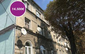 Jednoizbový byt č. 10, na ulici Železničná v Komárne