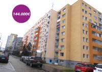 Trojizbový byt  č. 15 na ulici Majerníkova 7 na Dlhých Dieloch