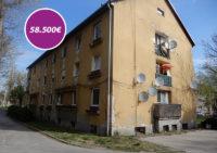 Dvojizobvý byt č. 1 na ulici Priateľstva v Komárne + pivničné priestory o výmere 456,94 m2