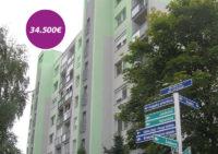 Jednoizbový byt č. 2 na ulici S. H. Vajanského v Nových Zámkoch